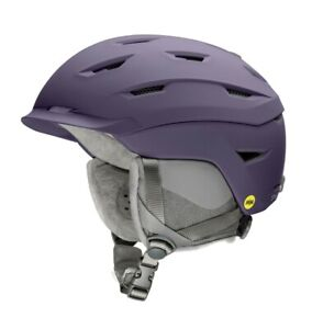 Smith Liberty Womens MIPS Snowboard Helmet Adult Small 51-55 cm Matte Violet New