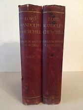 Lord Randolph Churchill by Winston Spencer Churchill M.P. in two volumes