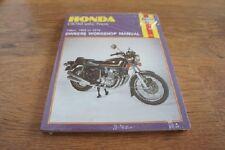 Manuel d'atelier pour honda cb750 ( S. O.H.C ) 1969 - ROYAUME-UNI et nous