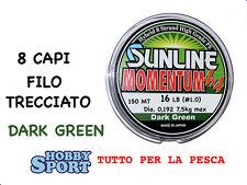 MOMENTUM TRECCIATO MULTIFIBRA 4X4  SUNLINE 16 LIBBRE  150 MT