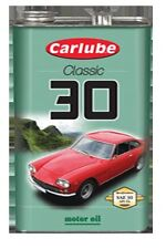 Carlube SAE 30 Classic Mineral Motor Engine Oil 4.55L XAE030 *No Additives*
