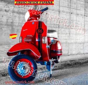 Vinilo Franjas Laterales moto Vespa Piaggio Lambretta