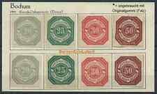 BOCHUM 1886, Express-Paketverkehr Chr.Menne, 8 Marken *Gummierung/Falz (#35699)
