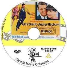 Charade - Audrey Hepburn, Cary Grant,  Walter Matthau, James Coburn Film  Drama
