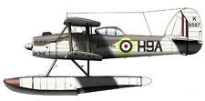 Fairey Seafox Reconnaissance Seaplane Handcrafted Wood Model Regular New