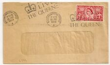 ENGLAND COVER BOURNEMOUTH POOLE A .2 1/2 POSTAGE REVENUE 1953.. L394