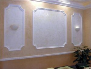 *FRAME* 3D Decorative Wall Stone Panels. ABS Form Plastic mold for Plaster