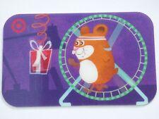 Target GIFT CARD LENTICOLARE criceto ruota/esercitare-VECCHI - 2008-nessun valore