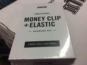 The Ridge Individual Money Clip + Elastic
