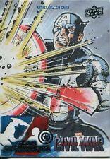 Captain America Civil War Sketch Card By Mitch Ballard