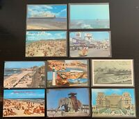 Lot of 10 Original Vintage Postcards - New Jersey - Wildwood, Atlantic City +