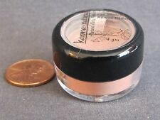 SALMON SILK - Coral Pink Natural Mineral Makeup EYE SHADOW Powder 4 gm - NEW