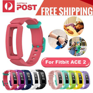 For Fitbit Ace2/Inspire/Inspire HR Silicone Replacement Waist Band Strap Buckle