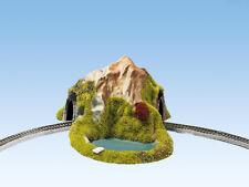 Noch 44670 scala Z,tunnel,1-gleisig,curvo,17 x 13 cm # NUOVO in scatola