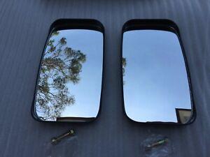 1 Pair Manual Side Wing Mirrors A for Isuzu KS-NPR Series Hino Nissan Bus Truck