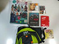 RBD Rebelde Pack Oficial Edicion Limitada Mochila Agenda Diego CD Celestial DVD