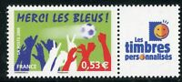 STAMP / TIMBRE PERSONNALISE N° 3936A ** SPORT FOOTBALL MERCI LES BLEUS LOGO TPP