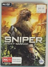 Sniper Ghost Warrior PC DVD Game 2010 City Interactive