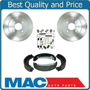 Rear Drums Brake Shoes Springs Kit for Chevrolet Cobalt 2.2L 09-10 4 Bolt ONLY