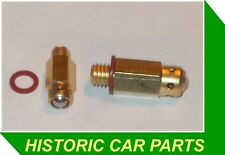 MG TF Midget 1500 1.5 1954-55 - 2 Carburettor FUEL INLET BALL VALVES