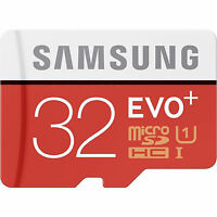 Neu Speicherkarte Samsung EVO Plus 32 GB MICRO SD HC Class 10 UHS 1 80 MB/s