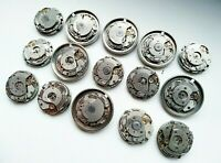 Watch Parts Movements Steampunk Parts Mechanisms  15 pc. Jewelry Making