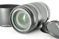 """""""Near Mint"""" Canon EF-S 55-250mm f4-5.6 IS zoom AF Lens Tested w/ Hood From Japan"""