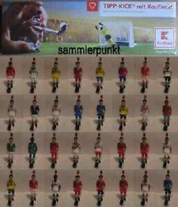 FUSSBALLSPIELER + BALL Ihrer Wahl aus der Tipp-Kick Kaufland-WM-Edition