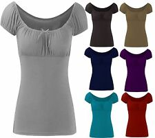 Viscose Scoop Neck Fitted Other Tops for Women