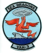 VAH-3 SEA DRAGONS DOUGLAS A-3 SKYWARRIOR A-3 VIGILANTE US Navy Squadron Patch