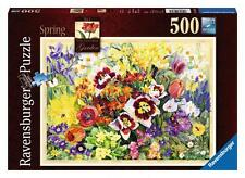 Ravensburger 14658 The Cottage Garden In Spring 500 Piece Jigsaw Puzzle - New
