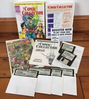 Vtg 1993 AbleSoft The Comic Collector Inventory For IBM MS-DOS Tandy Floppy Disc