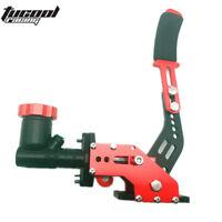 Red Racing Car Hydraulic E-BRAKE Drift Rally Lever Handbrake Gear With Oil Tank