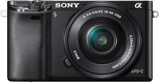 Sony alpha 6000 - Digitalkamera - 24,3 MP CMOS - Display: 7,62 cm/3'' TFT