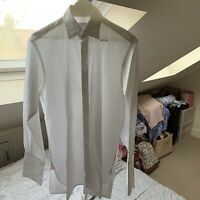 "Pink Men's Size: 33"" Collar 15.5"" (39-84 cms)Long Sleeve White Shirt"
