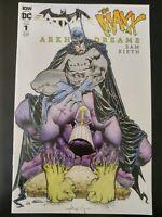BATMAN / The MAXX #1b Arkham Dreams (2018 IDW DC Comics) ~ VF/NM Book