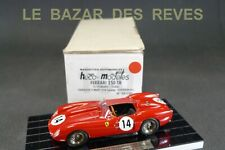 HECO MODELES. FERRARI 250TR. Le Mans 1958.  + Boite.