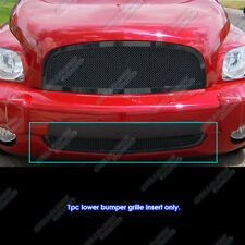 Fits 2006-2011 Chevy HHR Bumper Black Stainless Steel Mesh Grille Grill Insert