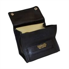 Genuine Real Leather Dr Plumb Small Box Wallet Tobacco Pouch with Cigarette Pape