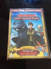 Dragons - Gift Of The Night Fury and Book Of Dragons (DVD, 2011) - New & Sealed