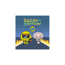 "Back To The Future Im From The Future Limited Edition Enamel Pins 1.5"" Official"