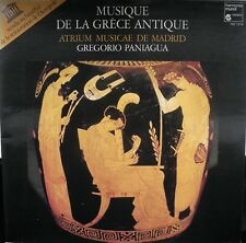 Musique de la Grece antique - Paniagua - Harmonia Mundi - 1rst edition - EX+ !!