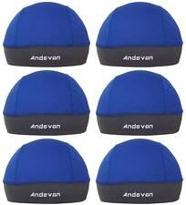 6 PCS Andevan™ Helmet Liner lined w/ TopCool Fabric Skull Cap Style lots sales