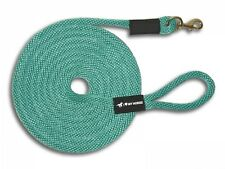 Horse Lead Lunge Line (35') Heavy Duty Brass Snap - USA MADE! 16 Colors!