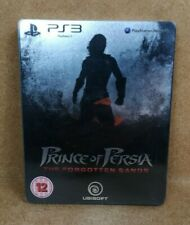 PRINCE OF PERSIA THE FORGOTTEN SANDS STEELBOOK PS3 PLAYSTATION 3 w LITHOGRAPHIES