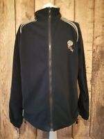 Official Bolton Wanderers Full Zip Fleece Jacket Sweatshirt Top Xl Blue 50 Chest