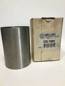 "Melling CSL297HP Engine Cylinder Sleeve 4.250/"" Bore 7.000/"" Length 1//8/"" Wall"