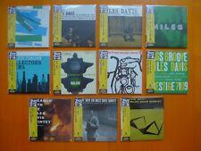 """MILES DAVIS long SOLD OUT """"PRESTIGE"""" 11 x Japan MINI LP CD Collection"""
