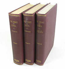 Story of Iowa PETERSEN 3 Vols Genealogy Family Names Photos STATE HISTORY