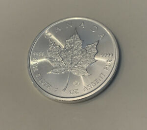 2020 1oz Canadian Silver Maple Leaf - Bullion Coin uncirculated In Capsule
